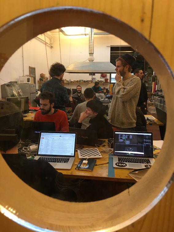 RULR: An open tool for programming physical space - opendot